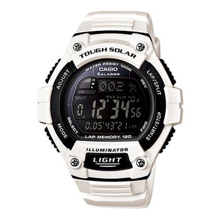 Casio Men's WS220C-7BV Tough Solar Digital Sport Watch