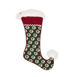 Jester Needlepoint Stocking Circle Dots
