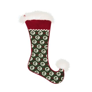 Jester Needlepoint Stocking Circle Needlepoint Stocking - King