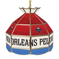 New Orleans Pelicans NBA 16 inch Tiffany Style Lamp