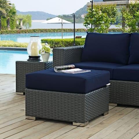 Modway Stopover Outdoor Patio Sunbrella® Ottoman