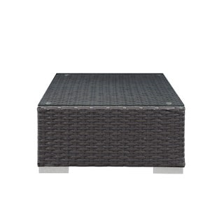 Modway Stopover Outdoor Patio Ottoman and Side Table