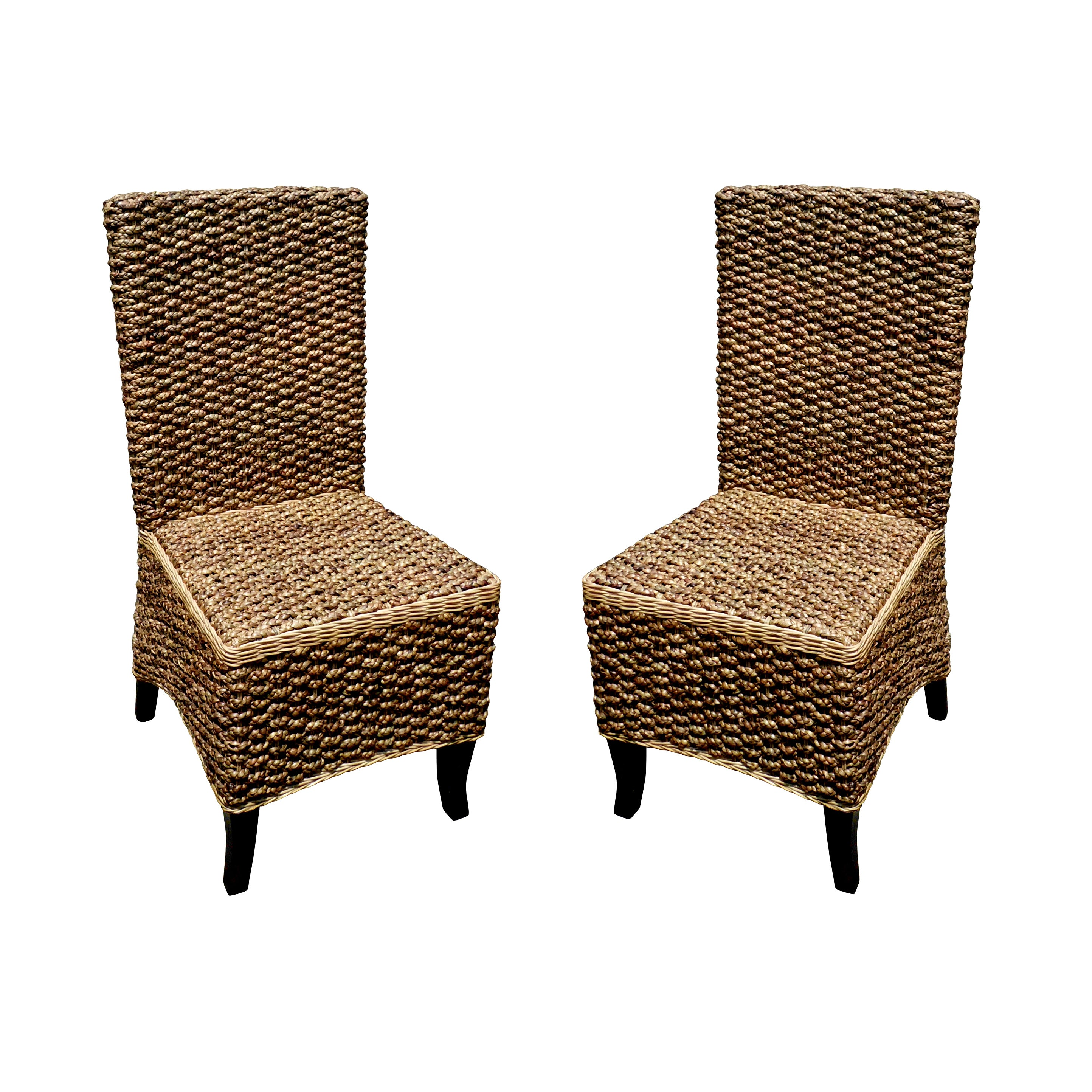 Handmade D-Art Seagrass Dining Chair (Indonesia) (Seagras...