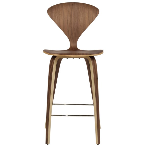 Molded Plywood Chairs Cherner Modern Red Dining Chair Handmade Cherner Style American Walnut Counter Stool india Overstock Shop Handmade Cherner Style American Walnut Counter Stool india