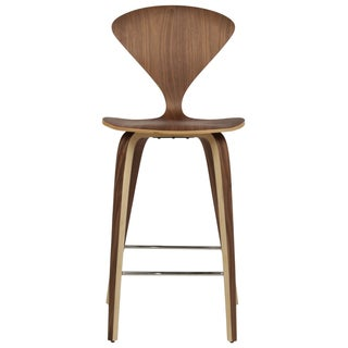 Cherner Style American Walnut Counter Stool