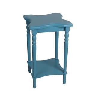 Privilege Blue Accent Table