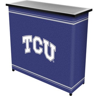 Texas Christian University 2 Shelf Portable Bar w/ Case