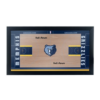 Memphis Grizzlies Official NBA Court Framed Plaque