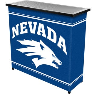 University of Nevada 2 Shelf Portable Bar with Case