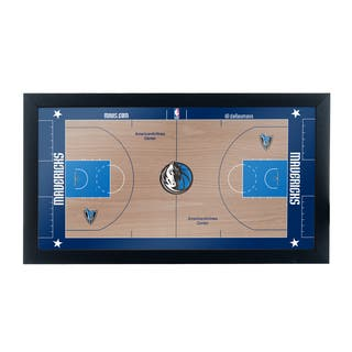 Dallas Mavericks Official NBA Court Framed Plaque|https://ak1.ostkcdn.com/images/products/10653790/P17720583.jpg?impolicy=medium
