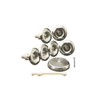 Kohler Flexjet Whirlpool Trim Kit Only in Vibrant Brushed Nickel