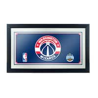 Washington Wizards NBA Framed Logo Mirror
