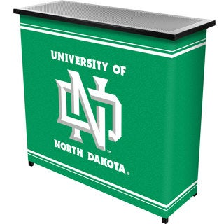 University of North Dakota 2 Shelf Portable Bar w/ Case