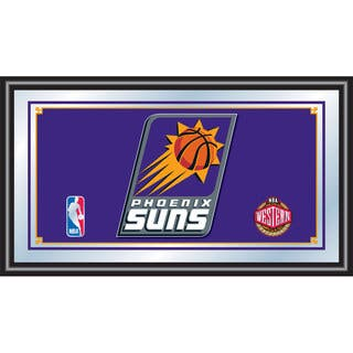 Phoenix Suns NBA Framed Logo Mirror|https://ak1.ostkcdn.com/images/products/10653901/P17720601.jpg?impolicy=medium
