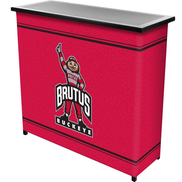 The Ohio State University 2 Shelf Portable Bar w/ Case