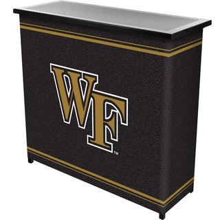 Wake Forest University 2 Shelf Portable Bar w/ Case