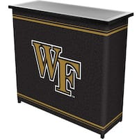 Wake Forest University 2 Shelf Portable Bar w/ Case