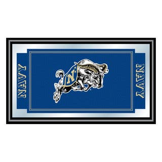 United States Naval Academy Logo and Mascot Framed Mirror https://ak1.ostkcdn.com/images/products/10653977/P17720567.jpg?impolicy=medium