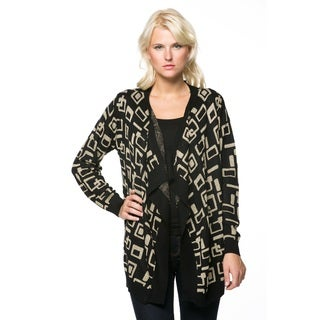 High Secret Women's Classic Geometric Cardigan