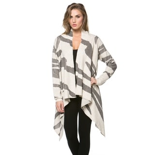 High Secret Women's Printed Fitted Cardigan