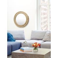 Aurelle Home Porthole Round Mirror