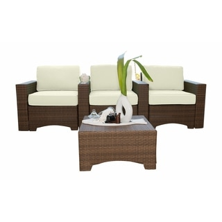 Panama Jack Key Biscayne 4-piece Theater Seating Set