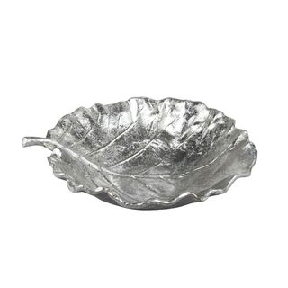 Aurelle Home Silver Decorative Tray