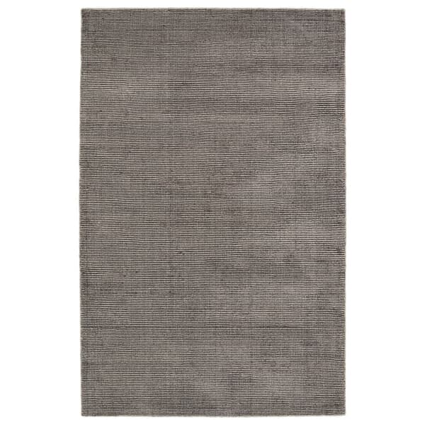 Solid Chic Brown Hand-Tufted Rug (5'0 x 7'9) - 5' x 7'9""