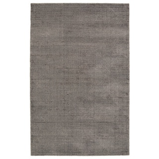Solid Chic Brown Hand-Tufted Rug (9'0 x 12'0)