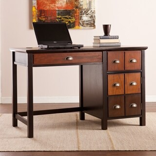 Harper Blvd Heloise Espresso Wood/Bronze Metal Apothecary Desk
