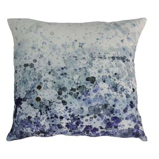 Aurelle Home Ocean Velvet 24-inch Throw Pillow