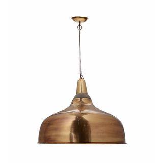 Aurelle Home River Bronze Color Pendant Lamp