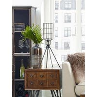 Aurelle Home Revis Iron Industrial Table Lamp