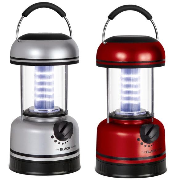 Black Series Indoor/Outdoor 20-LED Utility Lantern