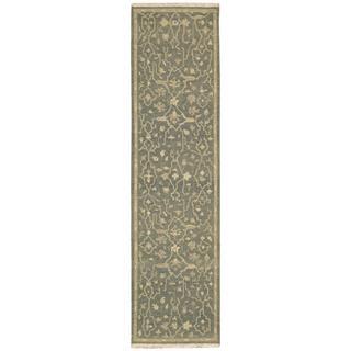 Nourison Nourmak Encore Blue Runner Rug (2'6 x 10')