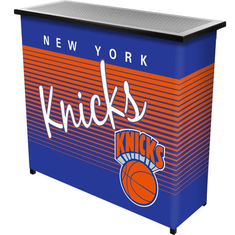New York Knicks Hardwood Classics NBA Portable Bar w/Case