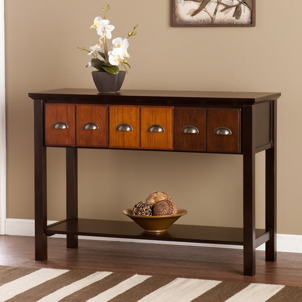 Sofa Tables On Sale: Shop Heloise Apothecary Console/ Sofa Table