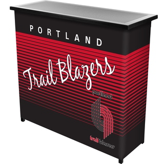 Portland Trailblazers Hardwood Classics NBA Portable Bar w/Case
