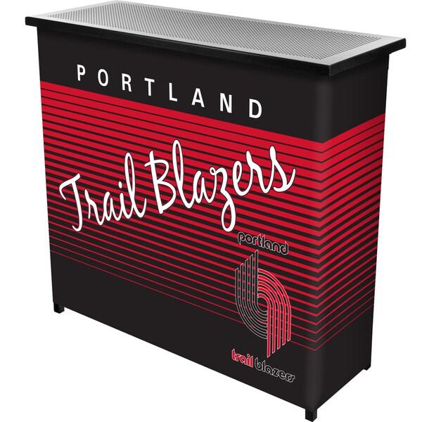 Portland Trailblazers Hardwood Classics NBA Portable Bar w/Case