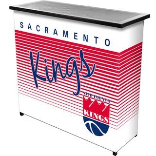Sacramento Kings Hardwood Classics NBA Portable Bar w/Case