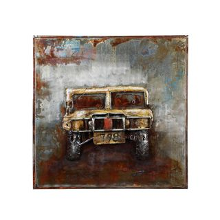Aurelle Home Hummer Car Wall Decor
