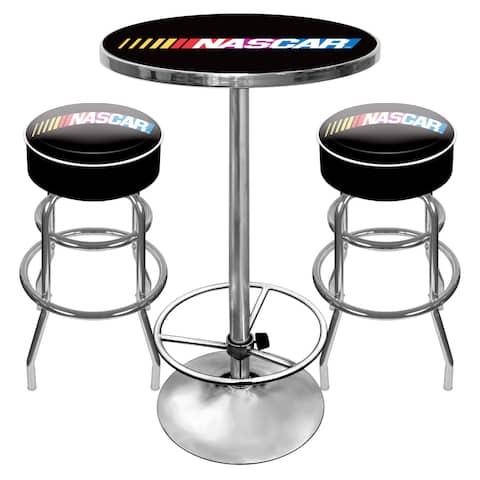 NASCAR Gameroom Combo - 2 Bar Stools and Table