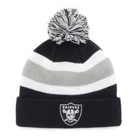 47 Brand Oakland Raiders Breakaway Beanie Hat