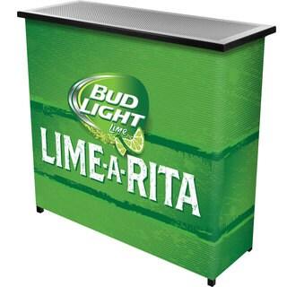 Bud Light Lime-A-Rita 2 Shelf Portable Bar woth Case