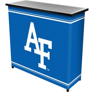 Air Force Falcons 2 Shelf Portable Bar w/ Case