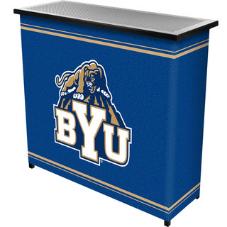 BYU 2 Shelf Portable Bar w/ Case