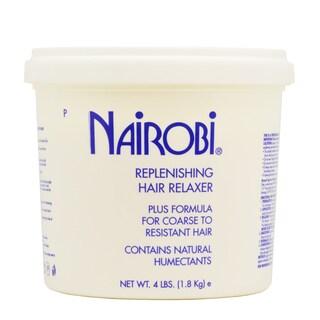 Nairobi Replenishing 64-ounce Hair Relaxer Plus Formula for Coarse to Resistant Hair Relaxer