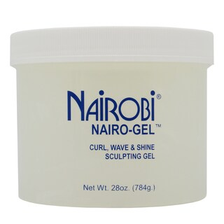 Nairobi Nairo-Gel Curl Wave and Shine 28-ounce Sculpting Gel