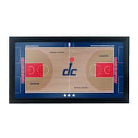 Washington Wizards Official NBA Court Framed Plaque