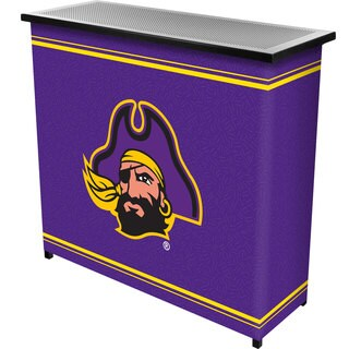East Carolina University 2 Shelf Portable Bar w/ Case